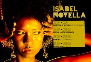 Isabel Novela Portugal tour 2013 (1)